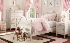 Resultado de imaxes para dormitorios niñas vintage
