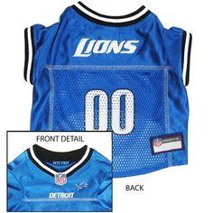 Detroit Lions NFL Football ULTRA Pet Jersey available at HotDogCollars.com  Detroit Football 82f732263