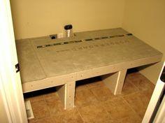 cement board - sheetrock