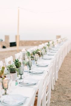 Think Happy Events is an inspired boutique event planning company based in Athens with specialization in destination weddings all over Greece. Bohemian Chic Weddings, Boho Wedding, Wedding Decor, Wedding Dinner, Wedding Tables, Create Wedding Invitations, Protea Wedding, Succulent Centerpieces, Wedding Dress Train