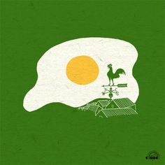 Sunny Side Up - Print by ilovedoodle aka Heng Swee Lim.   http://www.ilovedoodle.com/search?q=Sunny+Side+Up