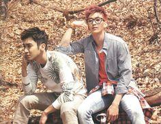 Super Junior in Hawaii ~ Siwon and Eunhyuk