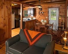 This log cabin in Holmes comfortable and cozy on a private setting in the woods of Dutchess County. Located close to Whaley Lake, it has a lot of space for a cabin, with three bedrooms and one-and-a-half bathrooms, as well as living and dining areas, a large enclosed deck, wood-burning stove and hardwood floors. And when you're there in the winter, you don't have to rely on Scrabble and Netflix; there are plenty of winter activities to keep you occupied right on the lake.