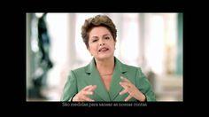 Esforço fiscal é temporário, diz Dilma Rousseff em pronunciamento