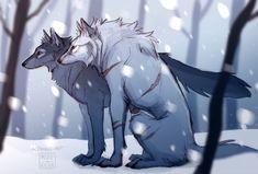 Voltron: Shiro & Keith werewolf!AU / Red Riding Hood AU 4/4 - By: Project Ava aka Mizu-no-Akira