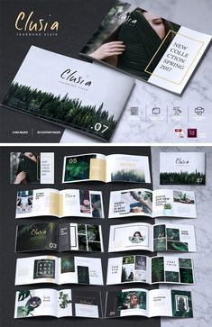 CLUSIA - Look book Brochure Catalogue. CLUSIA - Look book Brochure Catalogue. Portfolio Design Layouts, Book Design Layout, Photo Book Design, Book Design Inspiration, Brochure Design Inspiration, Clusia, Album Design, Mise En Page Portfolio, Lookbook Design