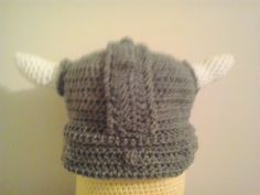 This is a pattern for a beanie made to look like a Viking hat. Please disregard the Giant Yellow Minion that I used as a model so that I...