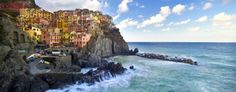 Colorful vacation destinations like Itally's Cinque Terre (Matej Kastelic / Dreamstime.com)