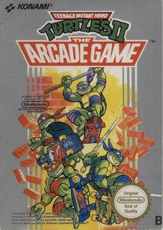 Teenage Mutant Hero Turtles 2 The Arcade Game - NES - Acheter vendre sur Référence Gaming
