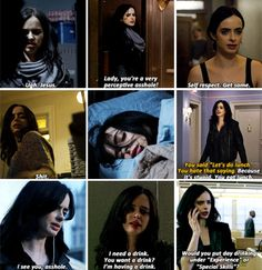 "Jessica Jones: Would you put day drinking under ""Experience"" or ""Special Skills""? #Marvel  #JessicaJones #netflix"