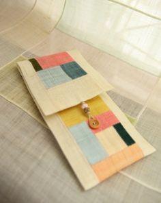 A fountain pen case / application library, a patchwork Fountain: Naver blog