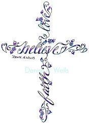 beautiful interpretation of the cross, but with the Verse Ecc. 3:11 Written!
