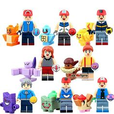 Pokémon Go mini figure -8 figures/set!  buy now $20.30 Feature And Advantage : 1. Suit for Children 6-12 years old 2. Develop Children's Brain 3. High-Quality ABS Plastic Material 4. Safety,Healthy,Environment,Non-poisonous 5. The items not LE*GO, but with it compatible(PLEASE SEE PICTURES)Brand : Unbrand, Condition : 100% brand newCharacter Family : Pocket MonsterSize : about 5 cm/2in. (Height)Material : ABS Plastic/non-toxic.Package …