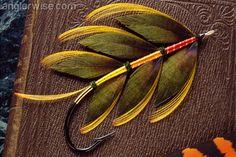 Beautiful Fishing Fly - Bronze Monarch