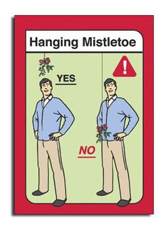 If hanging Mistletoe above your junk is wrong, I don't want to be right.