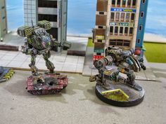 Spaceman Spiff's Blog Full O' Battlemechs...and more.: Even More Mini Madness!