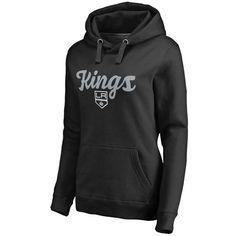 Los Angeles Kings Women's Free Hand Pullover Hoodie - Black - $54.99