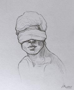 My Sketchbook Art I Dreamy Blindfolded Drawing Guy I Cute Sketch I Sketchy Art I. - My Sketchbook Art I Dreamy Blindfolded Drawing Guy I Cute Sketch I Sketchy Art Ideas I Pen Pencil d - Pencil Art Drawings, Cool Art Drawings, Art Drawings Sketches, Easy Drawings, Tattoo Sketches, Drawing Poses, Painting & Drawing, Drawing Ideas, Guy Drawing