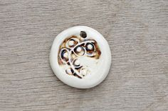 Your place to buy and sell all things handmade Porcelain Clay, White Porcelain, Ceramic Pendant, Flower Pendant, Gemstone Rings, Pendants, Beads, Abstract, Handmade