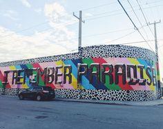 Winwood Walls, Miami.        Cada esquina, cada pared y cada artista hacen del antiguo barrio de fabricas y almacenes un festival de arte y color.  #WinwoodWalls #viajehype #igersmiami