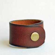 6.75 long...leather bracelet blank...  Jul 54 L by CoolVintage, $13.50
