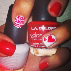 DIY manicure of the week: valentines day