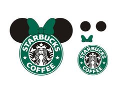 Check out our starbucks svg selection for the very best in unique or custom, handmade pieces from our shops. Logo Starbucks, Starbucks Cup Art, Disney Starbucks, Custom Starbucks Cup, Cricut Craft Room, Cricut Vinyl, Disney Diy, Disney Crafts, Images Disney