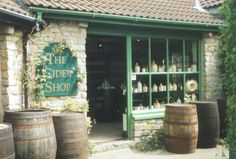 Earth Views: England-Somerset-Cheddar-Gorge-The-Cider-Shop- - West Country Somerset England, England Ireland, Scrumpy Cider, Somerset Cider, Places To Travel, Places To See, Cheddar Gorge, Things To Do In Cornwall, Earth View