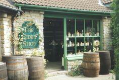 The Cider Shop. Cheddar Gorge, Somerset, England.