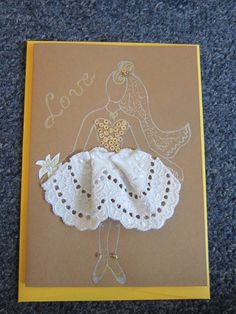 Bride card, perfect for wedding or anniversary invitations