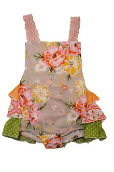 77788709e2699 Spring holiday baby bubble by creative boutique brand Sado. Sado is a  vintage inspired clothing