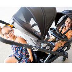 Joovy - poussette qool - gris melange Double Baby Strollers, Children, Three Kids, Bebe, Baby Newborn, Young Children, Boys, Kids, Child