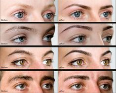 before and after brows - Google Search