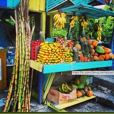 A Market stall get your fresh fruits and veggies here