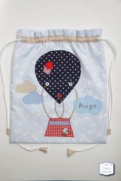 Bolsa mochila para guardería - Estrellitas