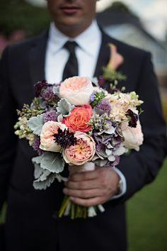 Blush bouquet...  love these colors~