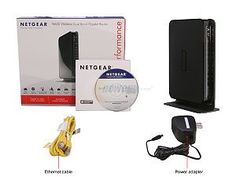 NETGEAR RangeMax Dual Band Wireless-N Gigabit Router WNDR3700 - Wireless router - 4-port switch - Gigabit Ethernet - 802.11 a/b/g/n (draft 2.0) – desktop RANGEMAX DUAL BAND WLS N GETH RTR Manufacturer Part Number WNDR3700-100NAS for sale