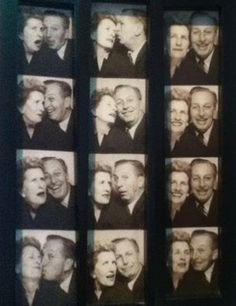 Mr  Mrs Disney in a photo booth