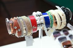Trending: Cuff Love You're invited to the arm party Preppy Style, My Style, Arm Party, Bangles, Bracelets, Tj Maxx, Types Of Fashion Styles, Making Ideas, Statement Earrings