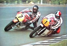 No telemetry or on board adjustments, just huge fucking balls. Barry my motorcycle racing hero. Ago wasn't slow either. Old School Motorcycles, Racing Motorcycles, Vintage Motorcycles, Mv Agusta, Honda Cb, Valentino Rossi, Gp Moto, Motorcycle Racers, Classic Bikes