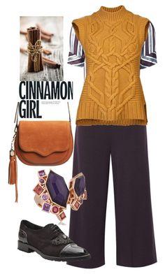 """Cinnamon girl"" by i-teddybear on Polyvore featuring Hellessy, TIBI, Derek Lam, Rebecca Minkoff and Stephen Webster"