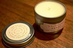 *PENDING* k. hall designs Peony Travel Candle