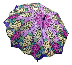 Tiffany stained glass umbrella..