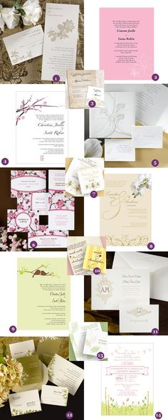 garden wedding invitations up to 35% OFF thru April 5th