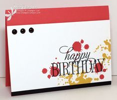 CCMC364 Happy Birthday, Everyone by stampercamper - Cards and Paper Crafts at Splitcoaststampers