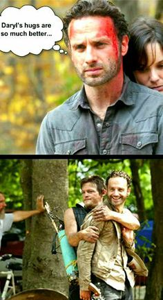 The Walking Dead...I want a Daryl hug!