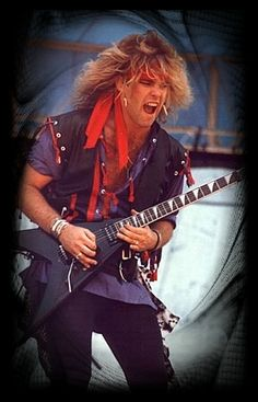 Robbin  Crosby (1959 - 2002) Guitarist and founding member of the band Ratt