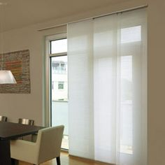 Levolor® Panel Track Blinds: Designer Textures Light Filtering