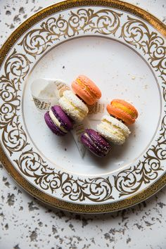 Not-so-traditional (but delicious) macarons at Emirates Palace.