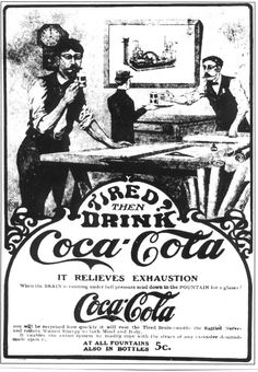 One of the first Coca cola Adv.